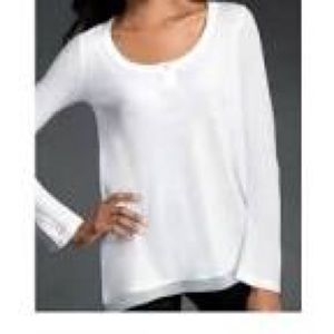 CAbi White Thermal Tunic